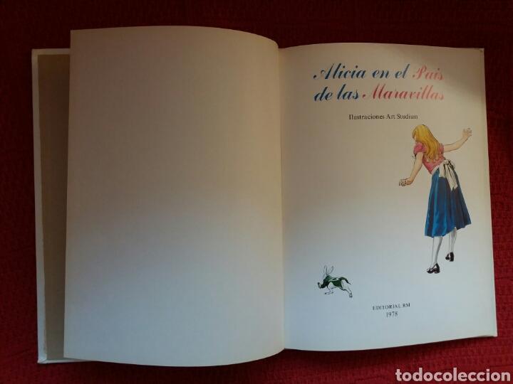 Libros: ALICIA EN EL PAÍS DE LAS MARAVILLAS EDITORIAL EMPRESARIAL 1978 - Foto 4 - 106228678