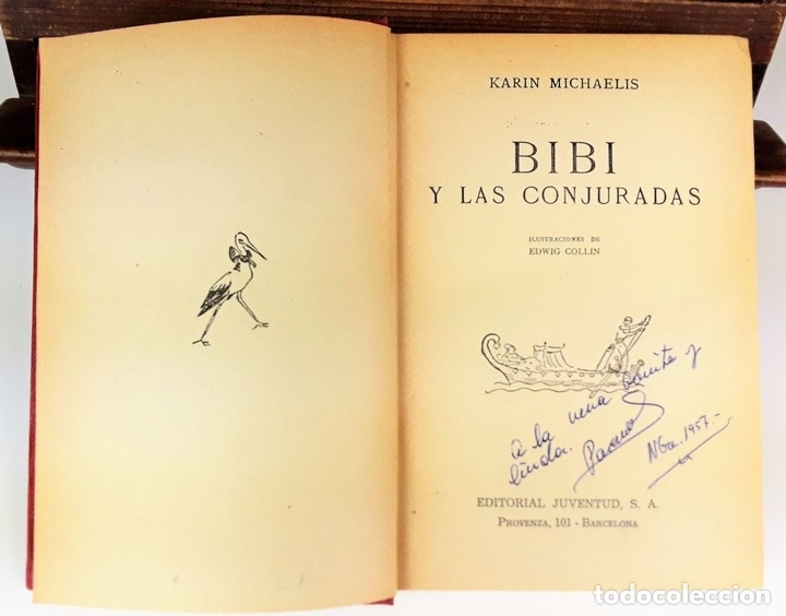 Libros: BIBI. 2 VOLÚMENES. KARIN MICHAELIS. EDIT JUVENTUD. 1948/1952. - Foto 4 - 110299919