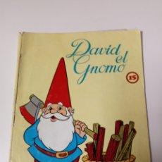 Libros: CUENTO DAVID EL GNOMO NUMERO 15. Lote 110622734