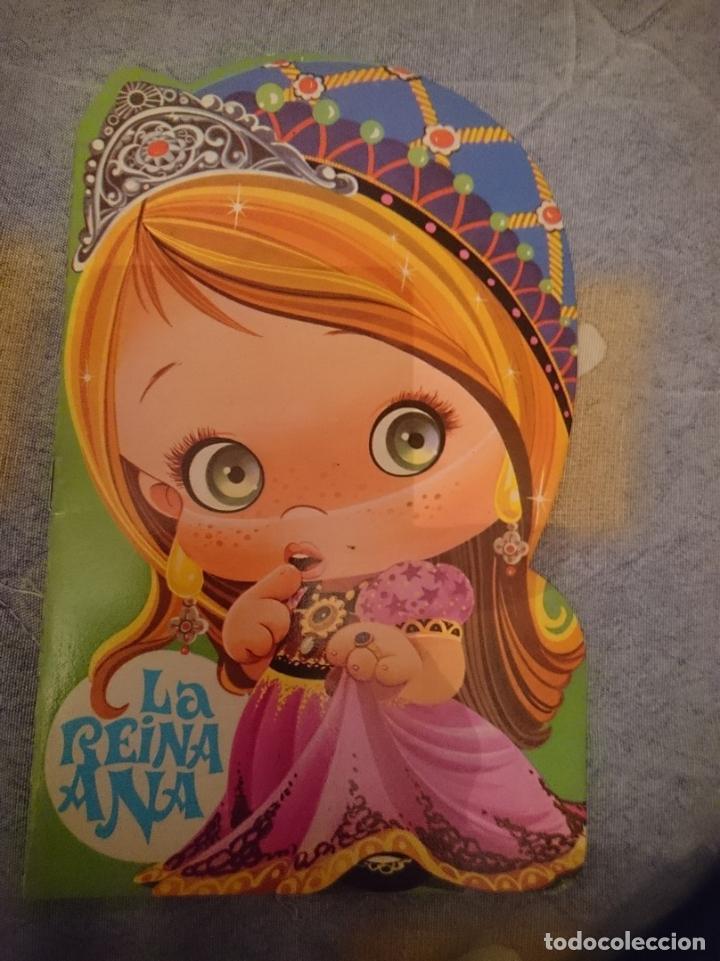 ANTIGUO CUENTO TROQUELADO - LA REINA ANA (Libros Nuevos - Literatura Infantil y Juvenil - Cuentos infantiles)