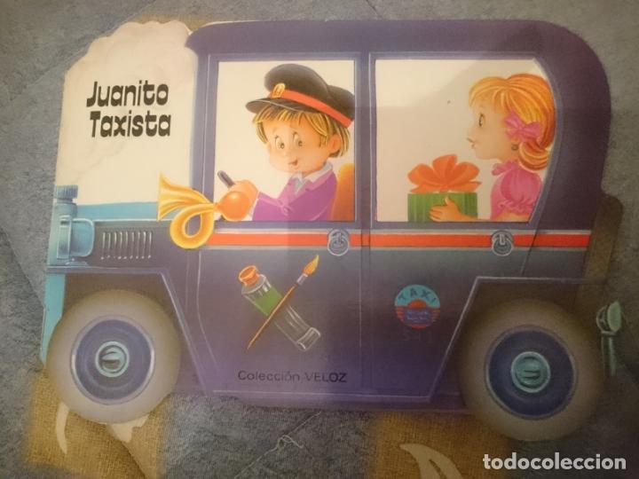 ANTIGUO CUENTO TROQUELADO - JUANITO TAXISTA (Libros Nuevos - Literatura Infantil y Juvenil - Cuentos infantiles)