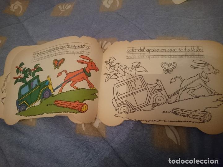 Libros: ANTIGUO CUENTO TROQUELADO - JUANITO TAXISTA - Foto 3 - 110683267