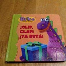 Libros: LIBRO INFANTIL DIDACTICO TEXTURAS A PARTIR DE 18 MESES. DIBO. !CLIP ,CLAP! Y YA ESTÁ!BEASCOA 2008. Lote 112268298