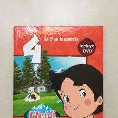 Libros: HEIDI NUM.4 - CUENTO CON DVD INCLUIDO. Lote 112597535