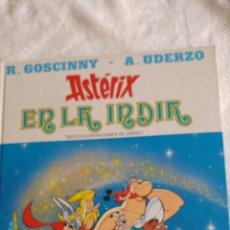 Libros: ASTERIX EN LA INDIA EDICIONES JUNIOR. Lote 113401199
