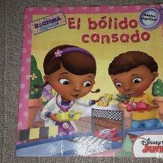 Libros: LA DOCTORA JUGUETES. EL BOLIDO CANSADO. DISNEY JUNIOR. Lote 113851219
