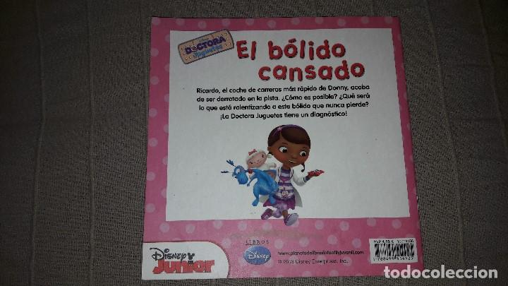 Libros: LA DOCTORA JUGUETES. EL BOLIDO CANSADO. DISNEY JUNIOR - Foto 2 - 113851219