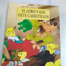 Libros: **CUENTO INFANTIL,---EL LOBO Y LOS SIETE CABRITILLOS---EDITORIAL LIBSA 2013**. Lote 117235271