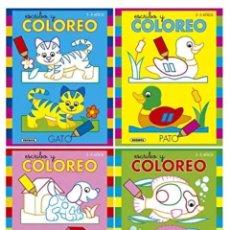 Libros: ESCRIBO Y COMOREO 4 CUADERNOS. Lote 119497688