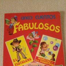 Libros: 5 CUENTOS FABULOSOS SERIE ESTILO. NÚMERO 6. Lote 121474159