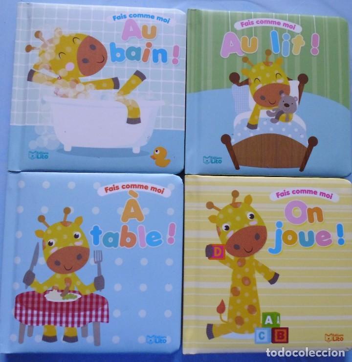 4 LIBROS INFANTILES EN FRANCES : MIRA LAS FOTOS Nº11 (Libros Nuevos - Literatura Infantil y Juvenil - Cuentos infantiles)