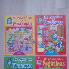 Libros: LOTE 2 CUENTOS CON PEGATINAS NUEVOS. Lote 124274767