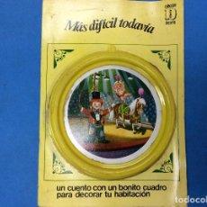Libros: UN CUENTO CON UN BONITO CUADRO PARA DECORAR TU HABITACIÓN - MAS DIFÍCIL TODAVÍA . Lote 126542387