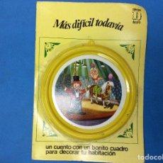 Libros: UN CUENTO CON UN BONITO CUADRO PARA DECORAR TU HABITACIÓN - MAS DIFÍCIL TODAVÍA . Lote 126542479