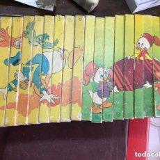 Libros: COLECCION DE ANTIGUOS CUENTOS BIBLIOTECA DE LOS JOVENES CASTORES - WALT DISNEY AÑO 1984. Lote 179953083
