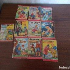 Libros: LOTE DE MINICUENTOS INFANTILES CON PROPAGANDA EN LA PARTE POSTERIOR DE TINTES VIKY. Lote 128721967