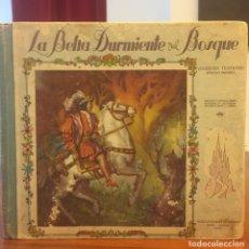 Libros: ANTIGUO CUENTO TROQUELADO LA BELLA DURMIENTE DEL BOSQUE. AÑO 1953. Lote 128873654