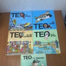 Libros: LOTE DE CUENTO ANTIGUOS TEO. Lote 132333906