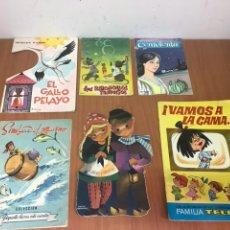 Libros: LOTE DE 39 CUENTOS CLÁSICOS INFANTILES ANTIGUOS VER FOTOS. Lote 132387475
