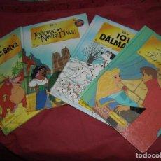 Libros: LOTE 4 LIBROS DISNEY VEDR FOTOS . Lote 132803490