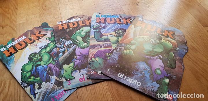 LOTE DE 4 CUENTOS EL INCREIBLE HULK AÑO 1981 EDITORIAL FUERA (Libros Nuevos - Literatura Infantil y Juvenil - Cuentos infantiles)