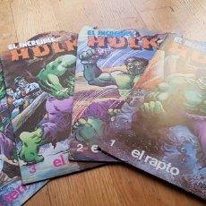 Libros: LOTE DE 4 CUENTOS EL INCREIBLE HULK AÑO 1981 EDITORIAL FUERA. Lote 134845482