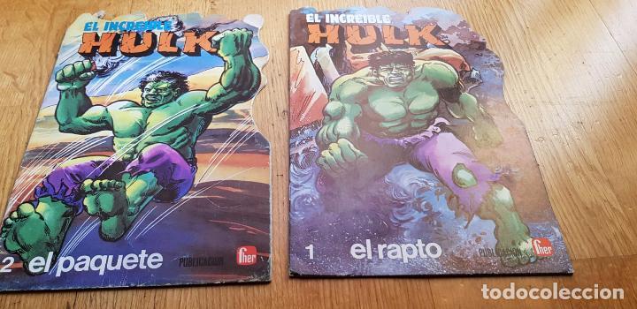 Libros: LOTE DE 4 CUENTOS EL INCREIBLE HULK AÑO 1981 EDITORIAL FUERA - Foto 2 - 134845482