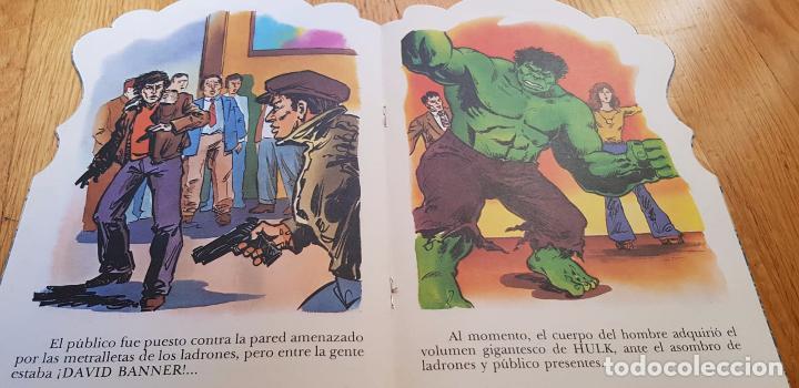 Libros: LOTE DE 4 CUENTOS EL INCREIBLE HULK AÑO 1981 EDITORIAL FUERA - Foto 3 - 134845482