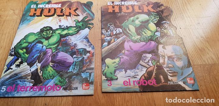 Libros: LOTE DE 4 CUENTOS EL INCREIBLE HULK AÑO 1981 EDITORIAL FUERA - Foto 4 - 134845482