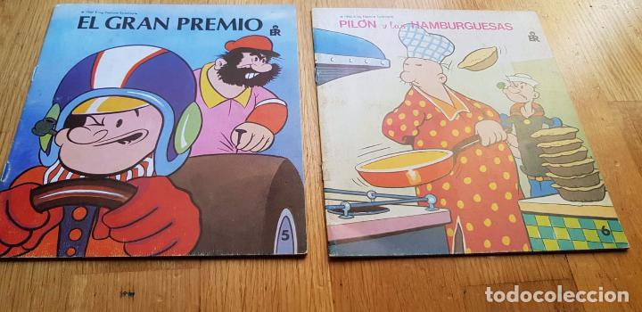 LOTE 2 CUENTOS DE POPEYE EDITORIAL ROMA AÑO 1982 (Libros Nuevos - Literatura Infantil y Juvenil - Cuentos infantiles)