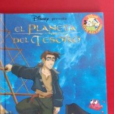 Libros: EL PLANETA DEL TESORO. SALVAT. DISNEY CLUB DEL LIBRO. Lote 135731049
