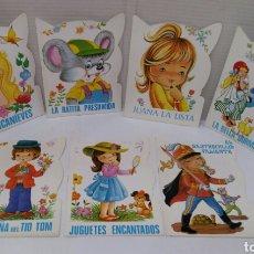 Libros: LOTE 7 CUENTOS TROQUELADOS VILMAR. NUEVO. NÚMEROS 10, 11, 12, 41, 42, 43 Y 44. 1984.. Lote 140471534