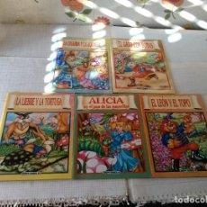 Libros: 5 CUENTOS INFANTILES QUERIDO DIOS, GRUPO EDIDER 88. Lote 143386958