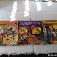 Libros: 3 CUENTOS INFANTILES VALDEHELECHOS, BUSCAS LAS PISTAS. Lote 143387206