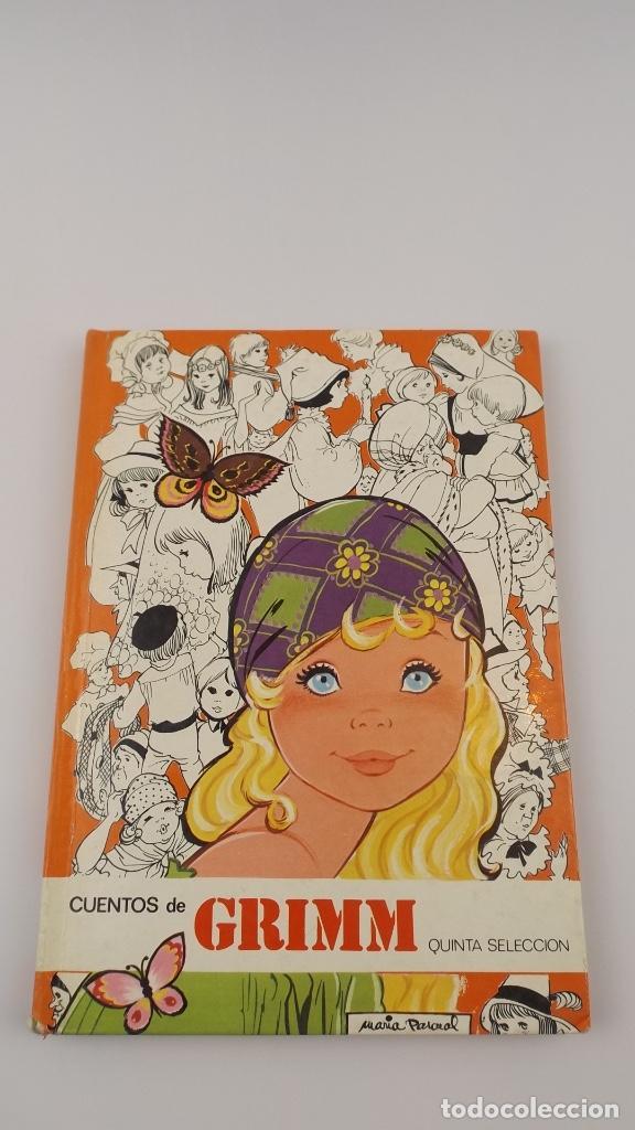CUENTOS DE GRIMM QUINTA SELECCION MARIA PASCUAL (Libros Nuevos - Literatura Infantil y Juvenil - Cuentos infantiles)