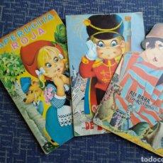 Libros: CUENTOS TROQUELADOS. Lote 145878554