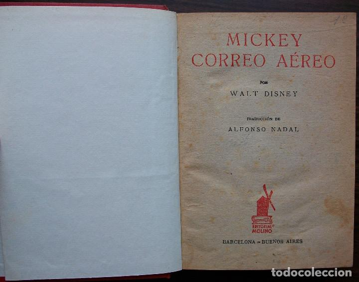 Libros: MICKEY CORREO AEREO POR WALT DISNEY. - Foto 2 - 146798658