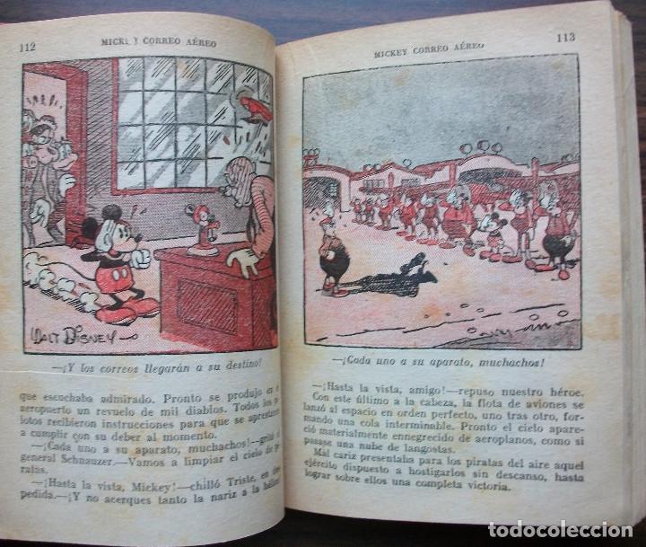 Libros: MICKEY CORREO AEREO POR WALT DISNEY. - Foto 4 - 146798658