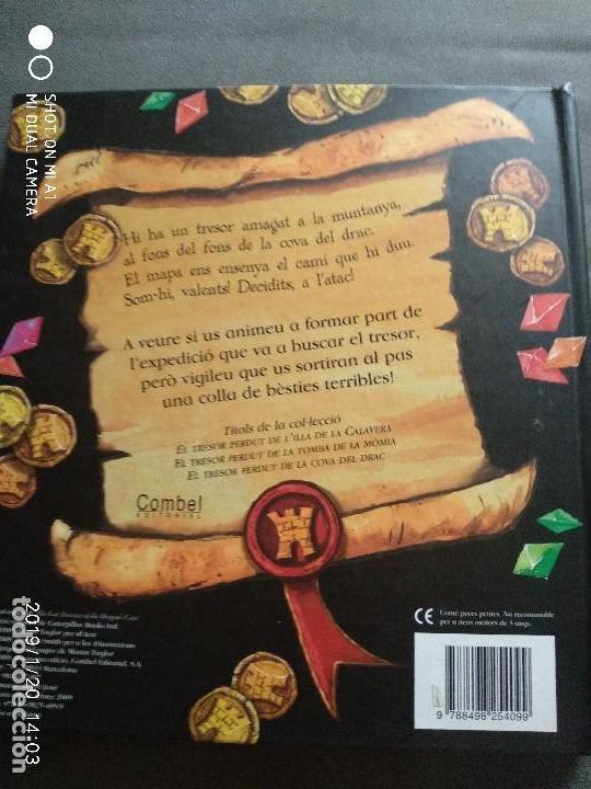 Libros: EL TRESOR PERDUT DE LA COVA DEL DRAC - Foto 3 - 147707634