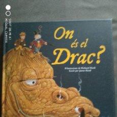 Libros: ON ES EL DRAC?. Lote 147708514
