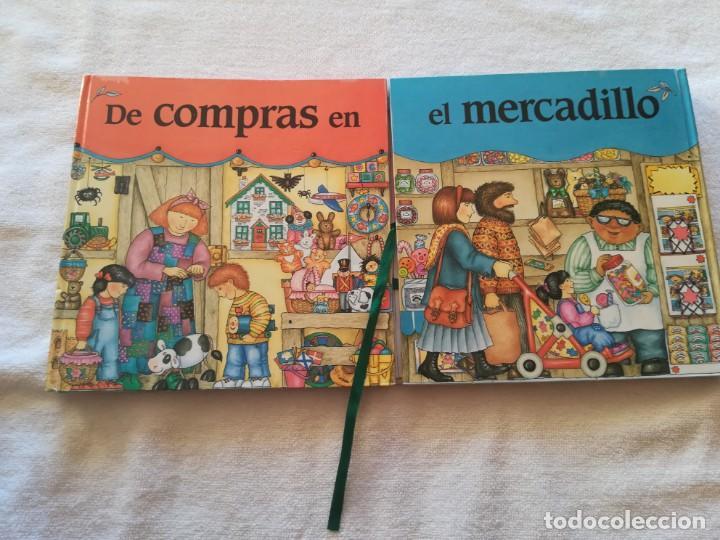 DE COMPRAS EN EL MERCADILLO (Libros Nuevos - Literatura Infantil y Juvenil - Cuentos infantiles)