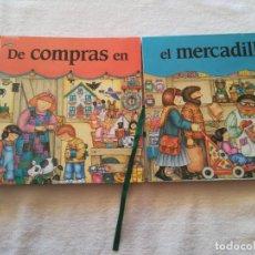 Livres: DE COMPRAS EN EL MERCADILLO. Lote 149627190