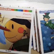 Libros: COLECCIÓN 14 CUENTOS INFANTILES. EL PAÍS. NUEVOS CON ACTIVIDADES PINOCHO PETER PAN PATITO FEO. Lote 150698250