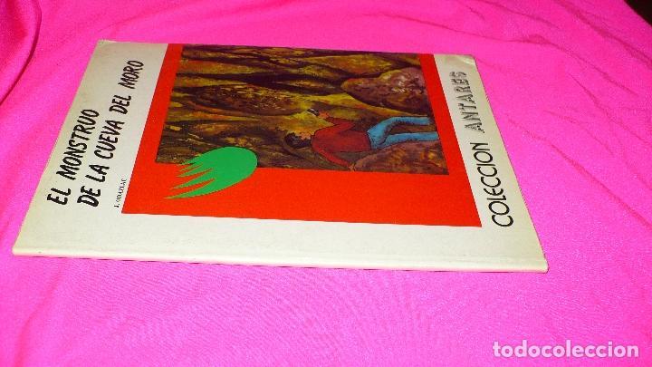 Libros: el mounstuo de la cueva del moro, de j. odazlac, teykal ediciones, coleccion antares. - Foto 3 - 152352534