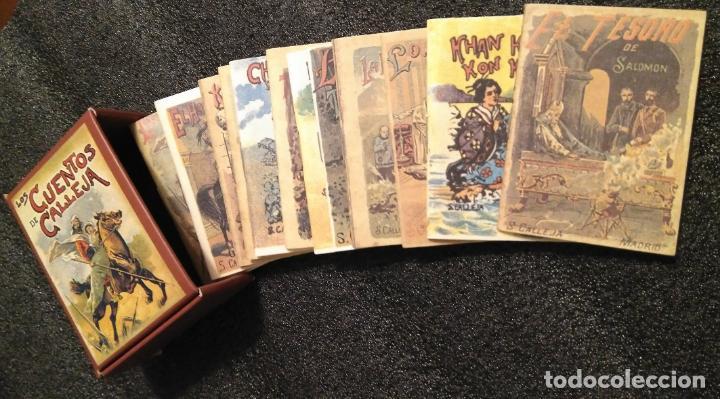 Libros: LOS CUENTOS DE CALLEJA (12 cuentos con estuche). - Foto 3 - 154734746