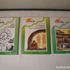 Libros: 3 LIBROS-RELATOS. ALA DELTA. EDELVIVES. NUEVOS.. Lote 155301198