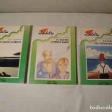 Libros: 3 LIBROS-RELATOS. ALA DELTA. EDELVIVES. NUEVOS.. Lote 155304358