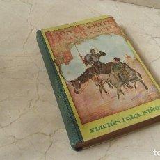 Libros: ANTIGUO DON QUIJOTE DE LA MANCHA PARA NIÑOS 1960 CARLES DALMA PLA. Lote 155478002