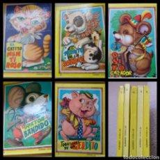Libros: LOS ALEGRES ANIMALES 5 CUENTOS 1965. Lote 121143292