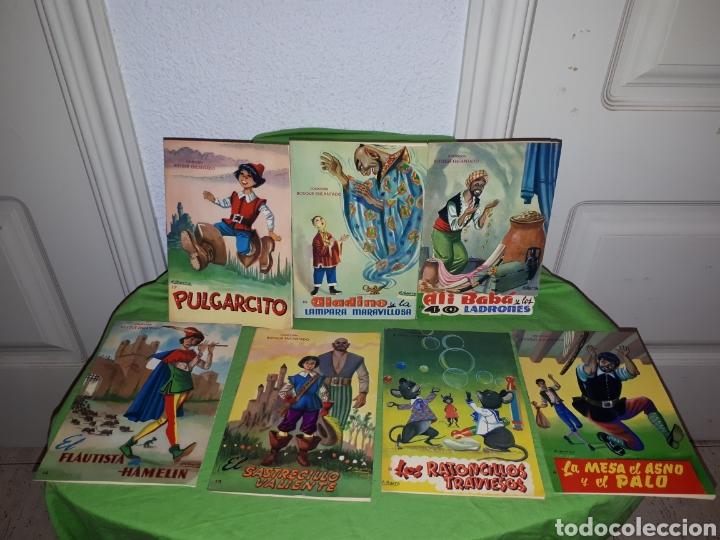 LOTE CUENTOS COLECCION BOSQUE ENCANTADO ILUSTRACIONES A . IBARRA COMO NUEVOS (Libros Nuevos - Literatura Infantil y Juvenil - Cuentos infantiles)